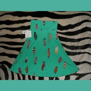 Feather skirt NWT Indian Style